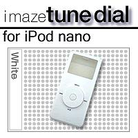 imaze tune dial for iPod nano (ホワイト) P12Sep14