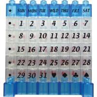 クリスタルブロックカレンダー ミニ ブルー P12Sep14