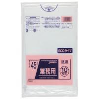 業務用ポリ袋 45L(0.02) 60冊入 TM48・透明(代引き不可)