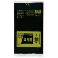 業務用ポリ袋 70L(0.035) 40冊入 TM72・黒(代引き不可)