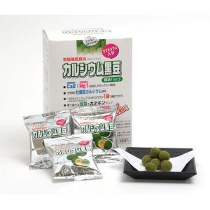 イシカワ カルシウム黒豆抹茶 14g×18p 6箱セット(代引き不可) P12Sep14