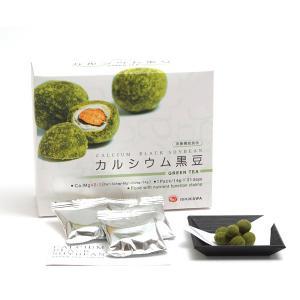 イシカワ カルシウム黒豆抹茶 14g×31p 6箱セット(代引き不可) P12Sep14