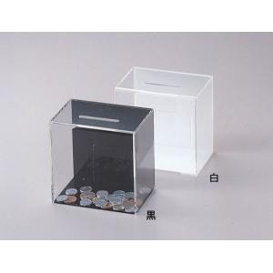 アクリル アンケート・募金・応募BOX ES-2 白(代引き不可) P12Sep14