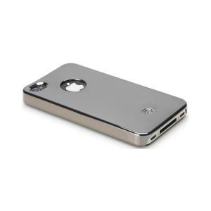 icover(アイカバー) iPhone4/4S用ケース MIRROR AS-IP4MR DS・ダークシルバー P12Sep14