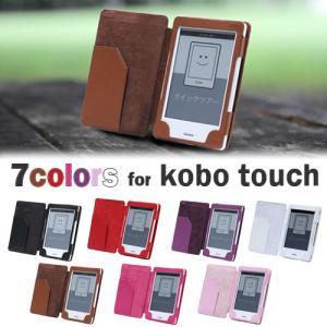 キラケー レザーケース for Kobo touch/kindle 4 ブラック P12Sep14
