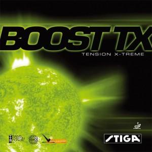 STIGAスティガ 卓球ラケット用ラバー ブーストTX 赤特厚(代引き不可) P12Sep14