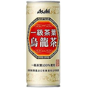 アサヒ 一級茶葉烏龍茶 245g 1ケース(30本入り) ウーロン茶 (代引き不可)  P12Sep14