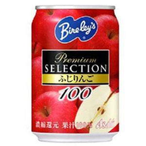 アサヒ バヤリース プレミアムセレクション ふじりんご100 280g 1ケース(24本入り)  ジュース (代引き不可)  P12Sep14