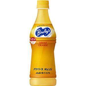 アサヒ バヤリース オレンジ 450ml 1ケース(24本入り)  ジュース (代引き不可)  P12Sep14