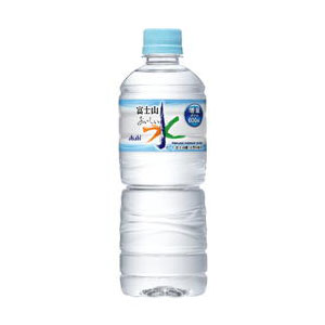 アサヒ おいしい水 富士山 600ml 1ケース(24本入り) (代引き不可)  P12Sep14
