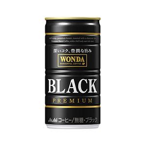 アサヒ WANDA ワンダ ブラックワンダ 缶185g×30本 1ケース コーヒー(代引き不可)  P12Sep14
