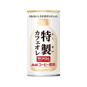 アサヒ WANDA ワンダ 特製カフェオレ 缶190g×30本 1ケース コーヒー(代引き不可)  P12Sep14