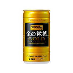 アサヒ WANDA ワンダ 金の微糖 缶185g×30本 1ケース コーヒー(代引き不可)  P12Sep14