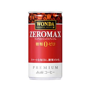 アサヒ WANDA ワンダ ゼロマックスプレミアム 缶185g×30本 1ケース コーヒー(代引き不可)  P12Sep14