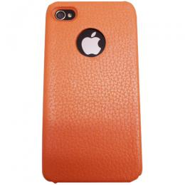 icover iPhone4/4S用ケース REAL COW LEATHER オレンジ AS-IP4LE-O IPHONE周辺機器(代引き不可) P12Sep14