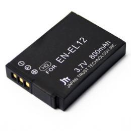 日本トラストテクノロジー デジタルカメラ 互換バッテリー Nikon対応 MBH-EN-EL12(代引き不可) P12Sep14