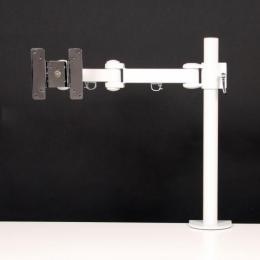 サンコー 4軸式くねくねモニターアーム(ホワイト) MARMGUS1920W(代引き不可) P12Sep14