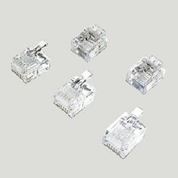 ミヨシ(MCO)モジュラ-プラグ 6極2芯用 10個入り TA-602P 電話機周辺機器(代引き不可) P12Sep14