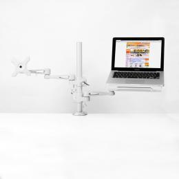 サンコー ノートパソコン&サブモニター用ダブルアーム MARMGUS3360S(代引き不可) P12Sep14