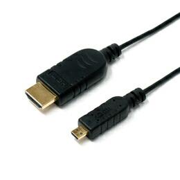 ミヨシ(MCO)デジタルカメラ用HDMIケ-ブル マイクロコネクタ 1.8m CDC-HDUD18/BK(代引き不可) P12Sep14