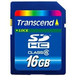トランセンド SDHCカード 16GB Class6 TS16GSDHC6(代引き不可) P12Sep14