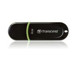 トランセンド USBメモリ JetFlash300シリーズ 4GB ブラックボディのシンプルデザイン TS4GJF300(代引き不可) P12Sep14