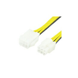 変換名人 PCI-E電源延長30cm PCIE6P/CA30(代引き不可) P12Sep14