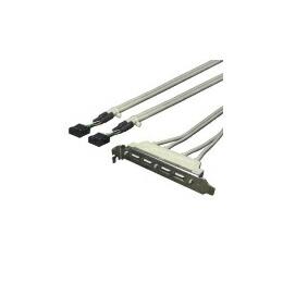変換名人 PCIブラケット用USB延長端子 PCIB-USB4(代引き不可) P12Sep14