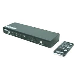ミヨシ(MCO) HDMIセレクター 4in2outマトリックススイッチ リモコン付きアクティブセレクター HDS-42M/2(代引き不可) P12Sep14