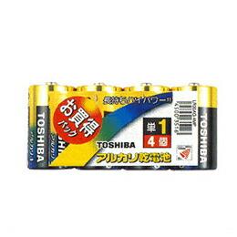 TOSHIBA(東芝)単1アルカリ電池 4本パック LR20AG 4MP(代引き不可) P12Sep14