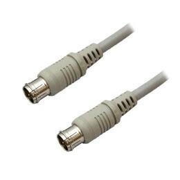 3Aカンパニー デジタル放送対応4Cアンテナケーブル 10m ストレート⇔ストレート ニッケルプラグ S4CFB100SS(代引き不可) P12Sep14