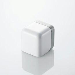 iPod/iPhone用 キューブ型AC充電器AVA-ACU01WH エレコム(代引き不可) P12Sep14
