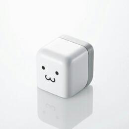 iPod/iPhone用 キューブ型AC充電器AVA-ACU01F1 エレコム(代引き不可) P12Sep14