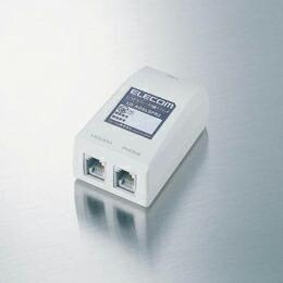 ラインセパレータ内蔵ADSLスプリッタLD-ADSLSPR2 エレコム(代引き不可) P12Sep14