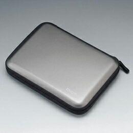 ポータブルハードディスクケースHDC-001GY エレコム(代引き不可) P12Sep14