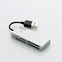 46+1メディア対応マルチメモリリーダライタMR-K006SV エレコム(代引き不可) P12Sep14