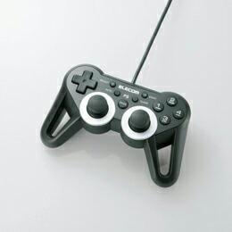 PlayStation(R)3用USBタフゲームパッドJC-GMU3312SPBK エレコム(代引き不可) P12Sep14