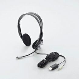 ヘッドセットマイクロフォンHS-GMHP06USV エレコム(代引き不可) P12Sep14