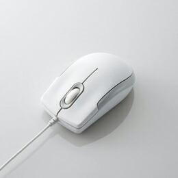 EU RoHS指令準拠 3ボタン光学式マウスM-K3URWH/RS エレコム(代引き不可) P12Sep14