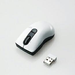3ボタンマイクロレシーバレーザーマウスM-BG3DLWH エレコム(代引き不可) P12Sep14