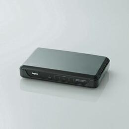 1000BASE-TX対応スイッチングハブLAN-GSW05/PHB ロジテック(代引き不可) P12Sep14