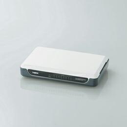 1000BASE-TX対応スイッチングハブLAN-GSW08/PH ロジテック(代引き不可) P12Sep14
