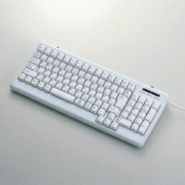 USB&PS/2コンパクトフルキ-ボ-ドTK-UP01MALG エレコム(代引き不可) P12Sep14