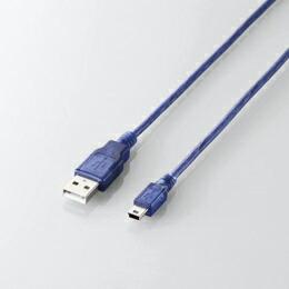 USB2.0ケーブル(A-mini-Bタイプ)U2C-GMM15BU エレコム(代引き不可) P12Sep14