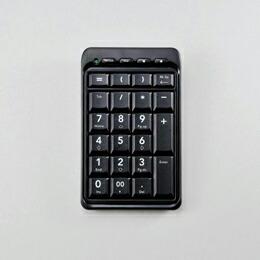 Bluetooth(R)ワイヤレステンキーボードTK-TBM008BK エレコム(代引き不可) P12Sep14