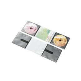 エレコム CD/DVD用スリム収納ソフトケース CCD-DP2C10BK(代引き不可) P12Sep14
