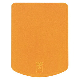 マウスパッド(オレンジ)MPD-T1D サンワサプライ(代引き不可) P12Sep14