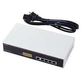 スイッチングHUB(5ポート)LAN-SWH5MPWR サンワサプライ(代引き不可) P12Sep14