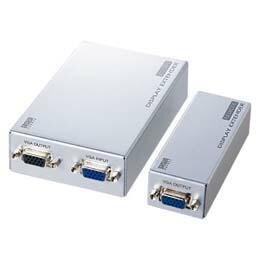 ディスプレイエクステンダー(セットモデル)VGA-EXSET2 サンワサプライ(代引き不可) P12Sep14