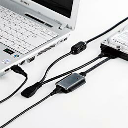 IDE/SATA-USB変換ケーブルUSB-CVIDE2 サンワサプライ(代引き不可) P12Sep14